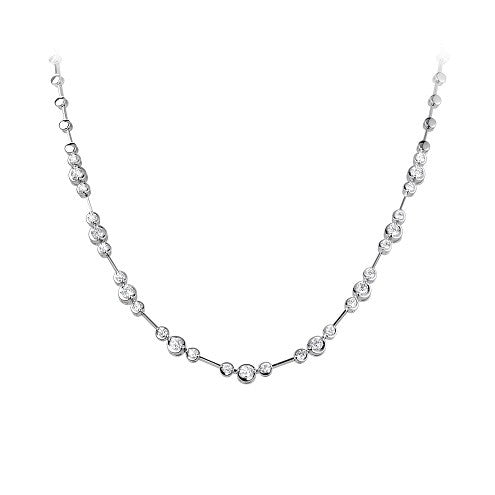 Rosabella diamond necklace 1.66ct - Hamilton & Lewis Jewellery