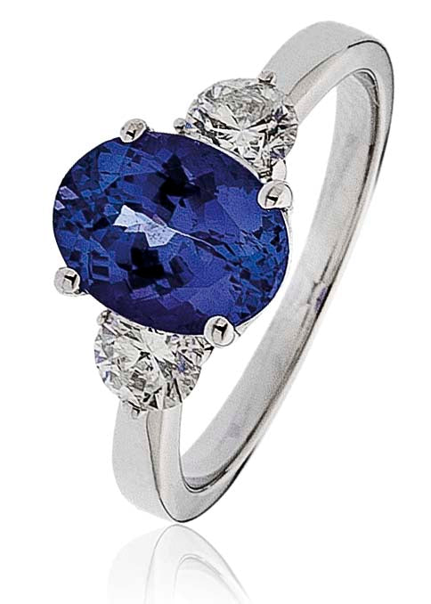 Tanzanite Ring 2.20ct - Hamilton & Lewis Jewellery