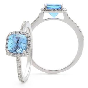 Aquamarine Ring 1.20ct - Hamilton & Lewis Jewellery