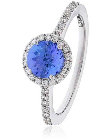 Tanzanite Ring 1.35ct - Hamilton & Lewis Jewellery