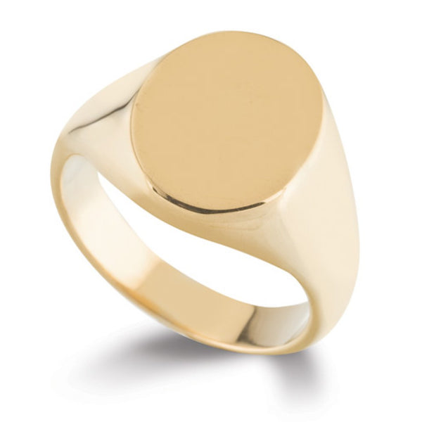 Oval Signet Ring SR1 - Hamilton & Lewis Jewellery