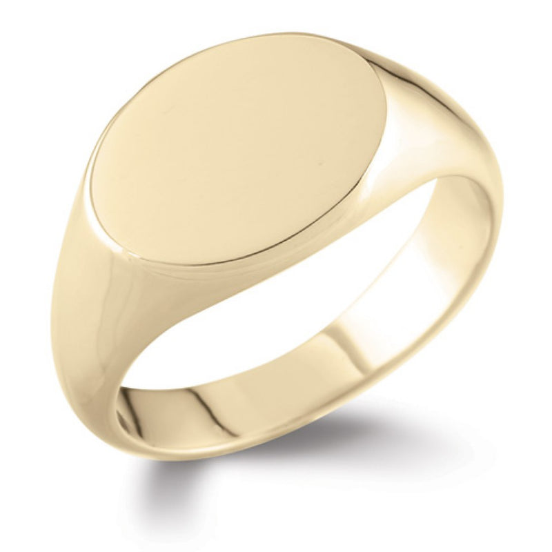 Oval Signet Ring SR2 - Hamilton & Lewis Jewellery