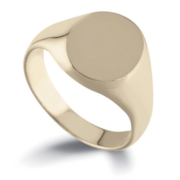 Oval Signet Ring SR3 - Hamilton & Lewis Jewellery