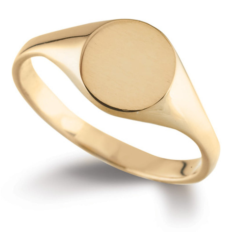 Oval Signet Ring SR40 - Hamilton & Lewis Jewellery