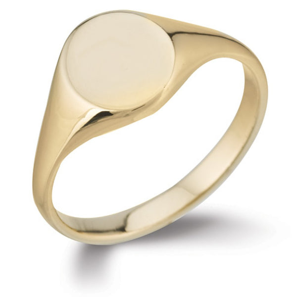 Oval Signet Ring SR41 - Hamilton & Lewis Jewellery
