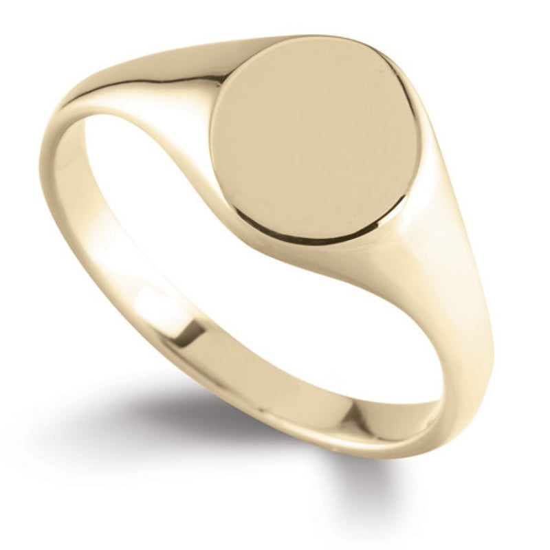 Oval Signet Ring SR42 - Hamilton & Lewis Jewellery