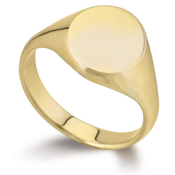 Oval Signet Ring SR43 - Hamilton & Lewis Jewellery