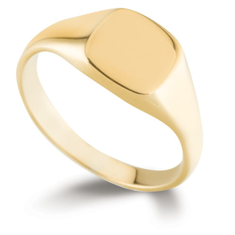 Rectangular Signet Ring SR45 - Hamilton & Lewis Jewellery
