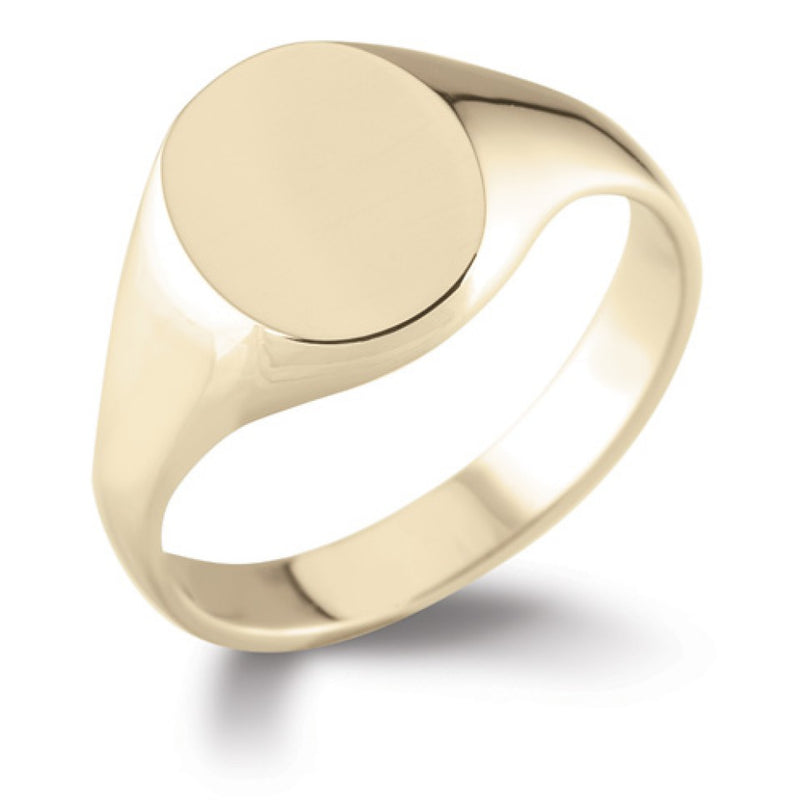 Oval Signet Ring SR4 - Hamilton & Lewis Jewellery