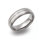 Unique & Co Titanium Ring TR-103 - Hamilton & Lewis Jewellery