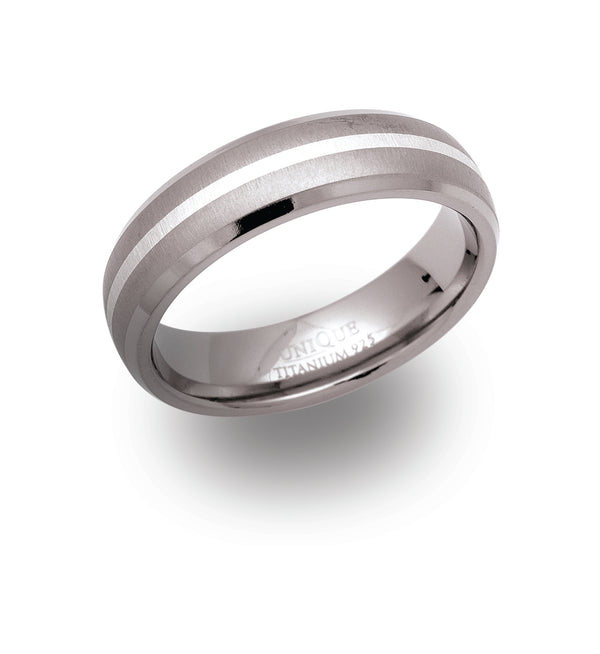 Unique & Co Titanium Ring TR-10 - Hamilton & Lewis Jewellery