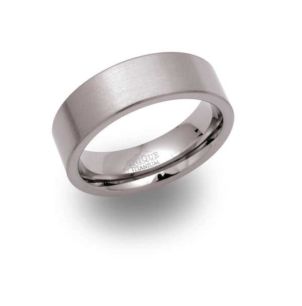 Unique & Co Titanium Ring TR-15 - Hamilton & Lewis Jewellery