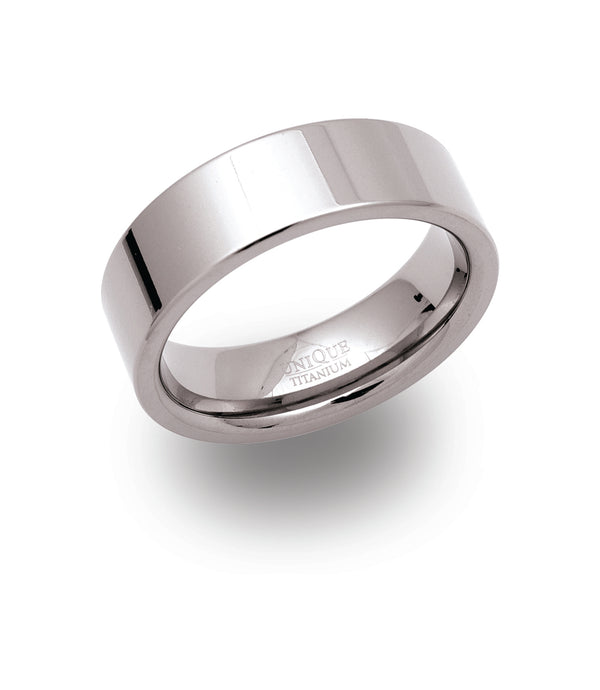 Unique & Co Titanium Ring TR-16 - Hamilton & Lewis Jewellery