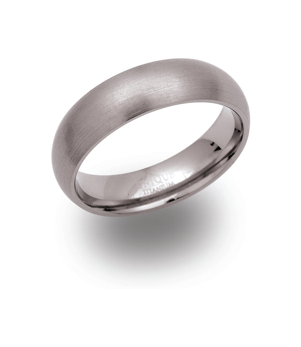 Unique & Co Titanium Ring TR-40 - Hamilton & Lewis Jewellery