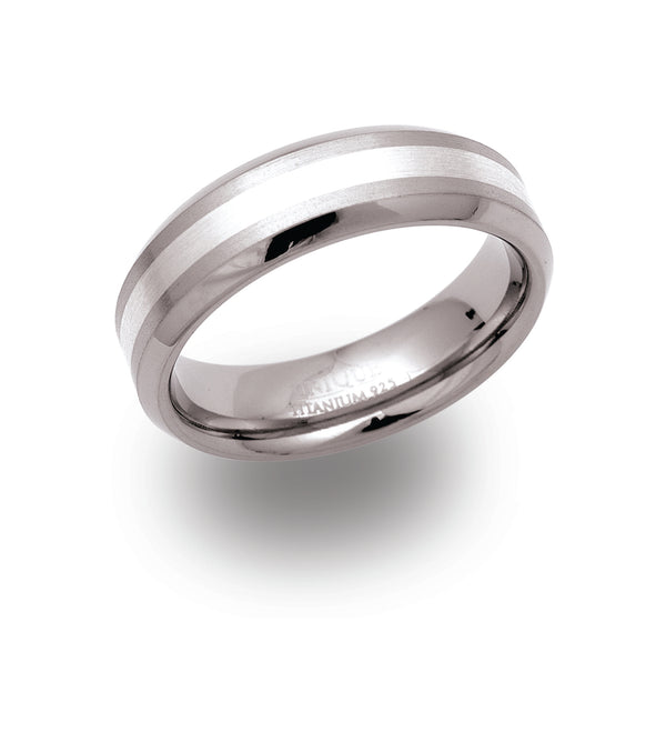 Unique & Co Titanium Ring TR-22 - Hamilton & Lewis Jewellery