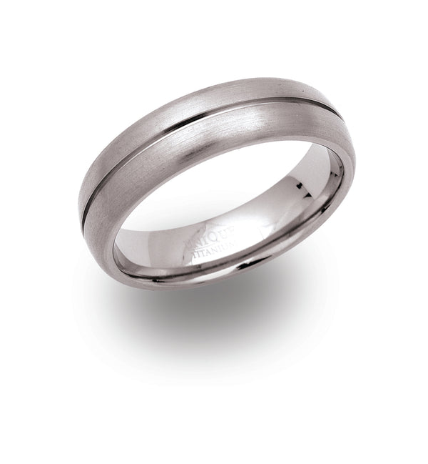 Unique & Co Titanium Ring TR-2 - Hamilton & Lewis Jewellery
