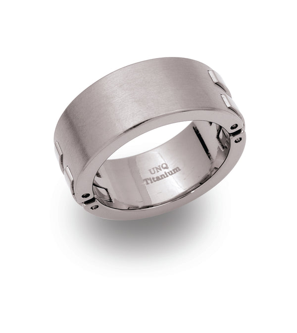 Unique & Co Titanium Ring TR-36 - Hamilton & Lewis Jewellery