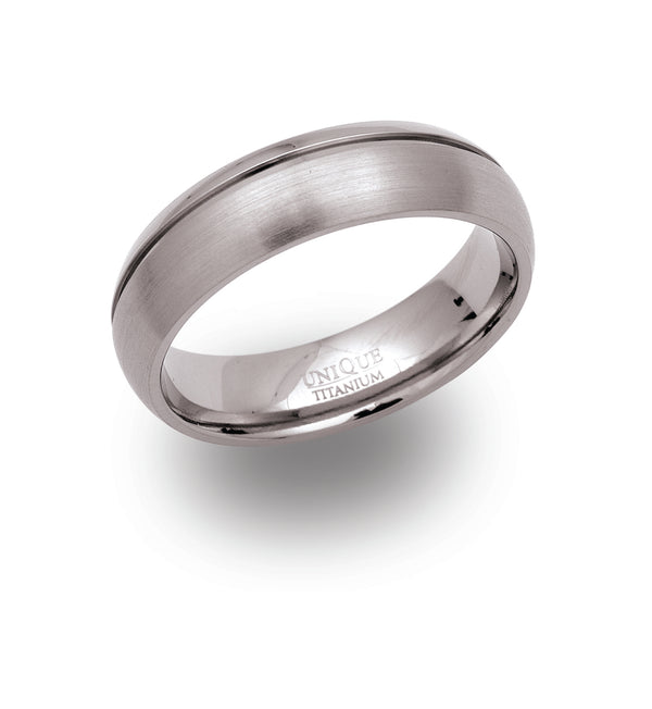 Unique & Co Titanium Ring TR-44 - Hamilton & Lewis Jewellery