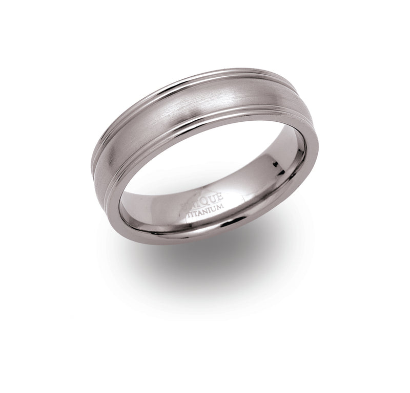 Unique & Co Titanium Ring TR-46 - Hamilton & Lewis Jewellery