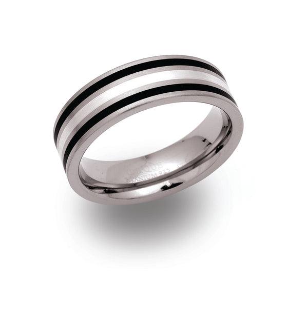 Unique & Co Titanium Ring TR-48 - Hamilton & Lewis Jewellery