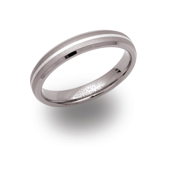 Unique & Co Titanium Ring TR-52 - Hamilton & Lewis Jewellery