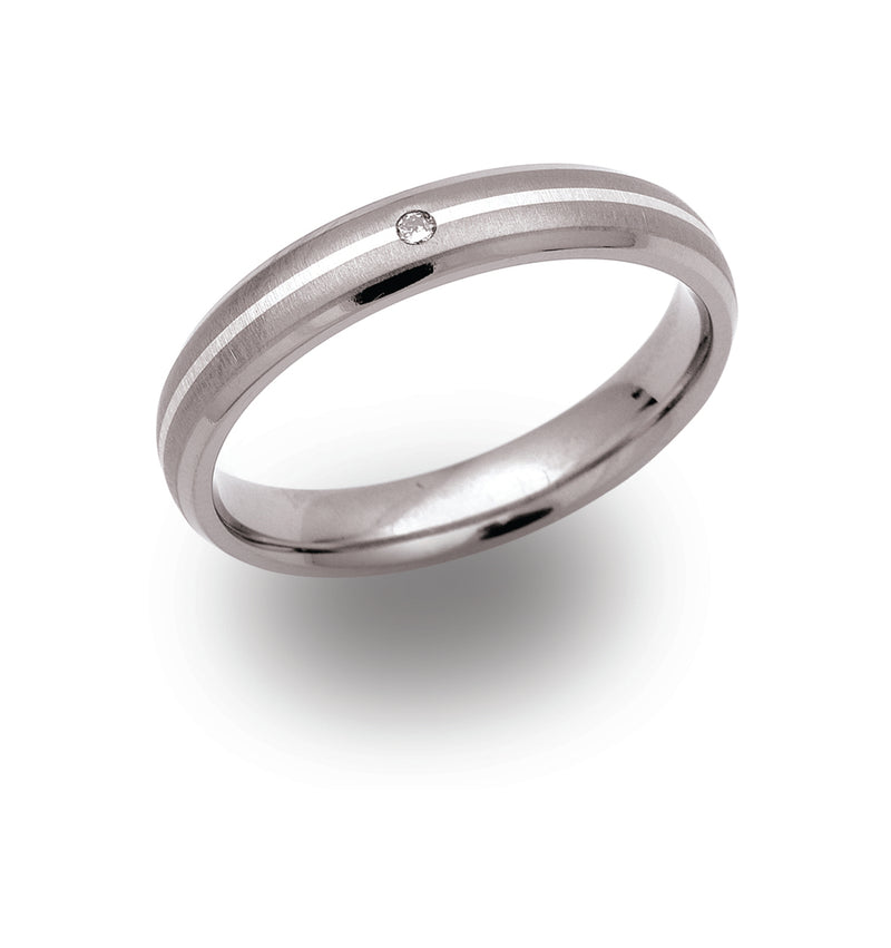Unique & Co Titanium Ring TR-53 - Hamilton & Lewis Jewellery