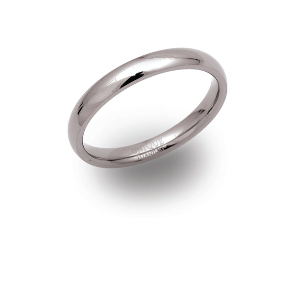 Unique & Co Titanium Ring TR-60 - Hamilton & Lewis Jewellery