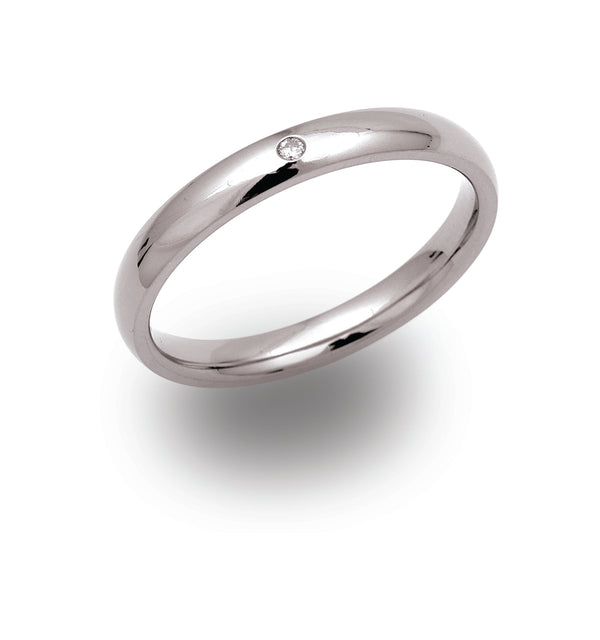 Unique & Co Titanium Ring TR-61 - Hamilton & Lewis Jewellery