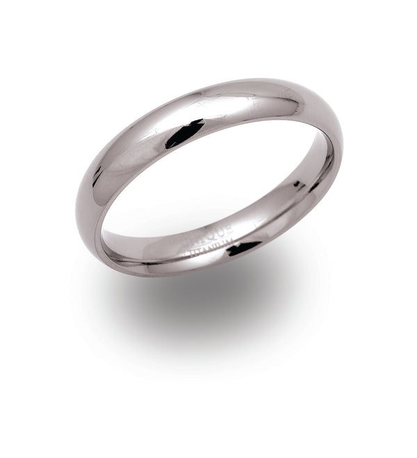 Unique & Co Titanium Ring TR-62 - Hamilton & Lewis Jewellery