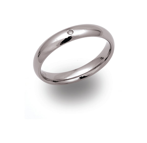 Unique & Co Titanium Ring TR-63 - Hamilton & Lewis Jewellery