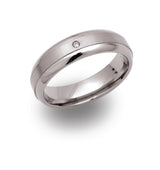 Unique & Co Titanium Ring TR-6 - Hamilton & Lewis Jewellery