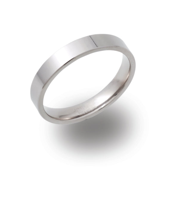 Unique & Co Titanium Ring TR-84 - Hamilton & Lewis Jewellery