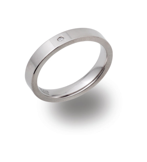 Unique & Co Titanium Ring TR-85 - Hamilton & Lewis Jewellery