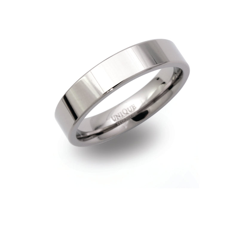 Unique & Co Titanium Ring TR-86 - Hamilton & Lewis Jewellery