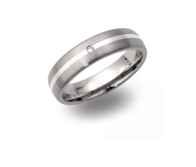 Unique & Co Titanium Ring TR-91 - Hamilton & Lewis Jewellery