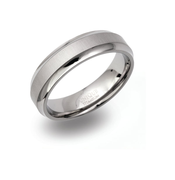 Unique & Co Titanium Ring TR-96 - Hamilton & Lewis Jewellery