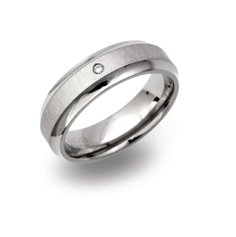 Unique & Co Titanium Ring TR-97 - Hamilton & Lewis Jewellery