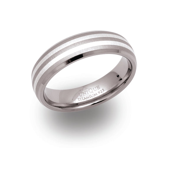 Unique & Co Titanium Ring TR-9 - Hamilton & Lewis Jewellery