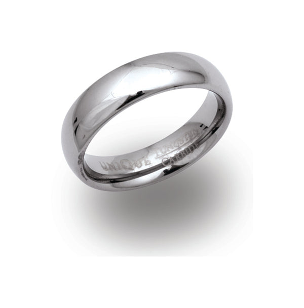 Unique & Co Tungsten Ring TUR-8 - Hamilton & Lewis Jewellery