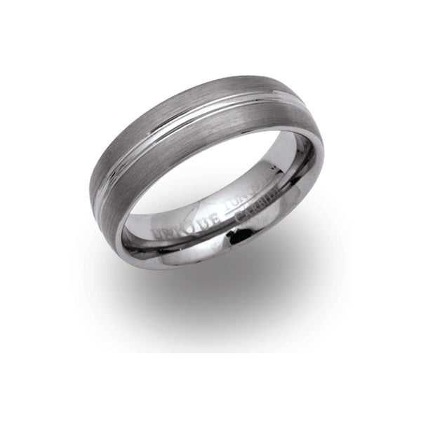 Unique & Co Tungsten Ring TUR-9 - Hamilton & Lewis Jewellery