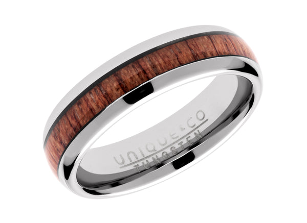Unique & Co Tungsten Ring TUR-103 - Hamilton & Lewis Jewellery