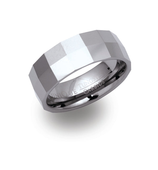 Unique & Co Tungsten Ring TUR-15 - Hamilton & Lewis Jewellery