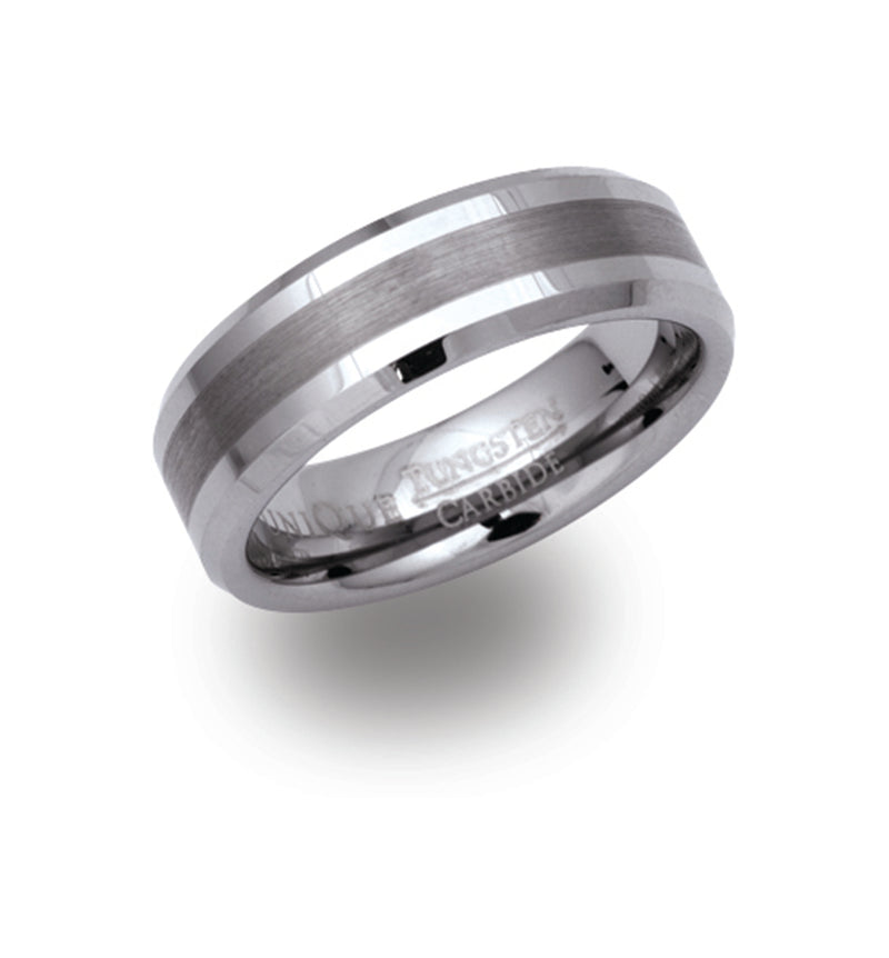 Unique & Co Tungsten Ring TUR-17 - Hamilton & Lewis Jewellery