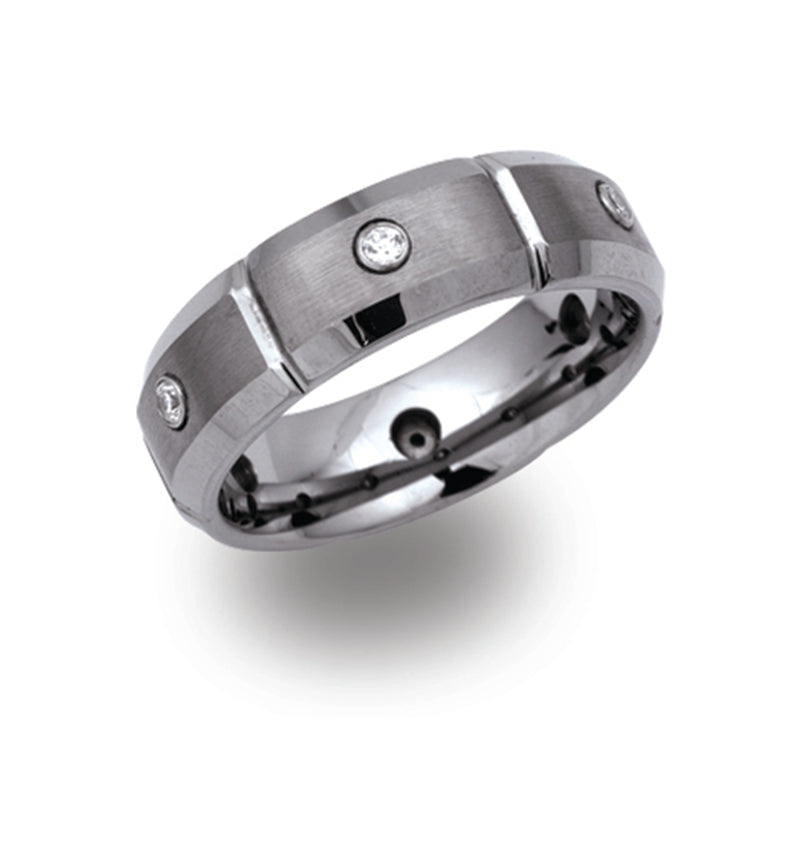 Unique & Co Tungsten Ring TUR-20 - Hamilton & Lewis Jewellery