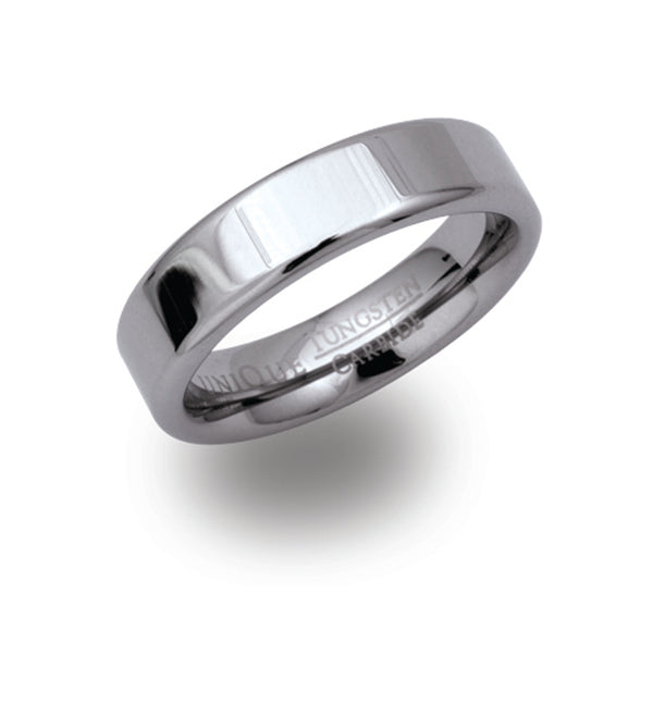 Unique & Co Tungsten Ring TUR-23 - Hamilton & Lewis Jewellery
