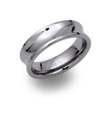 Unique & Co Tungsten Ring TUR-26 - Hamilton & Lewis Jewellery