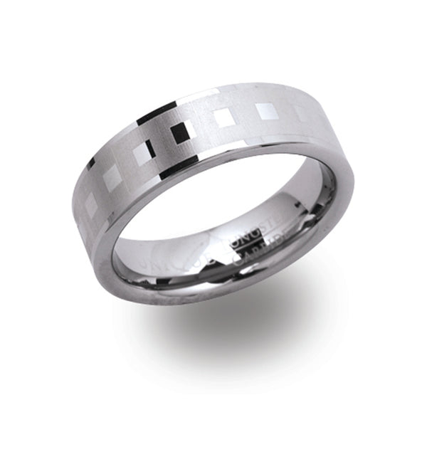 Unique & Co Tungsten Ring TUR-30 - Hamilton & Lewis Jewellery