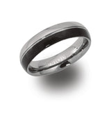 Unique & Co Tungsten Ring TUR-35 - Hamilton & Lewis Jewellery