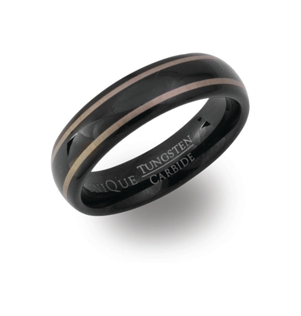 Unique & Co Tungsten Ring TUR-38 - Hamilton & Lewis Jewellery