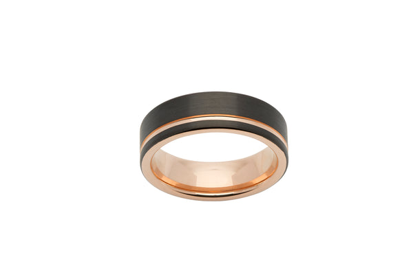 Unique & Co Tungsten Ring TUR-56 - Hamilton & Lewis Jewellery